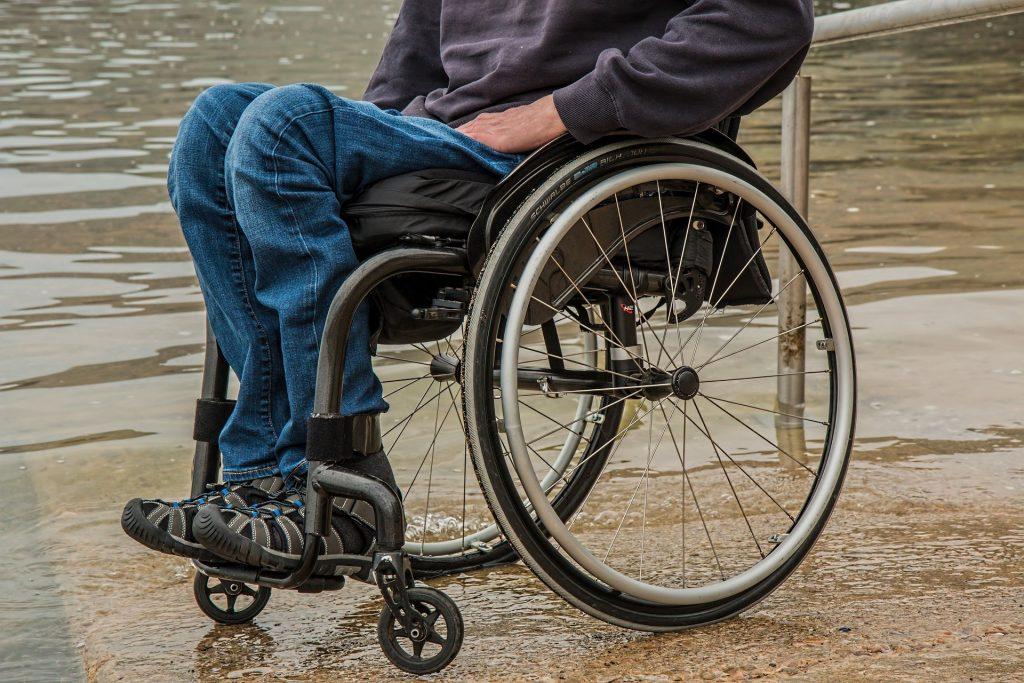 paraplegic injury