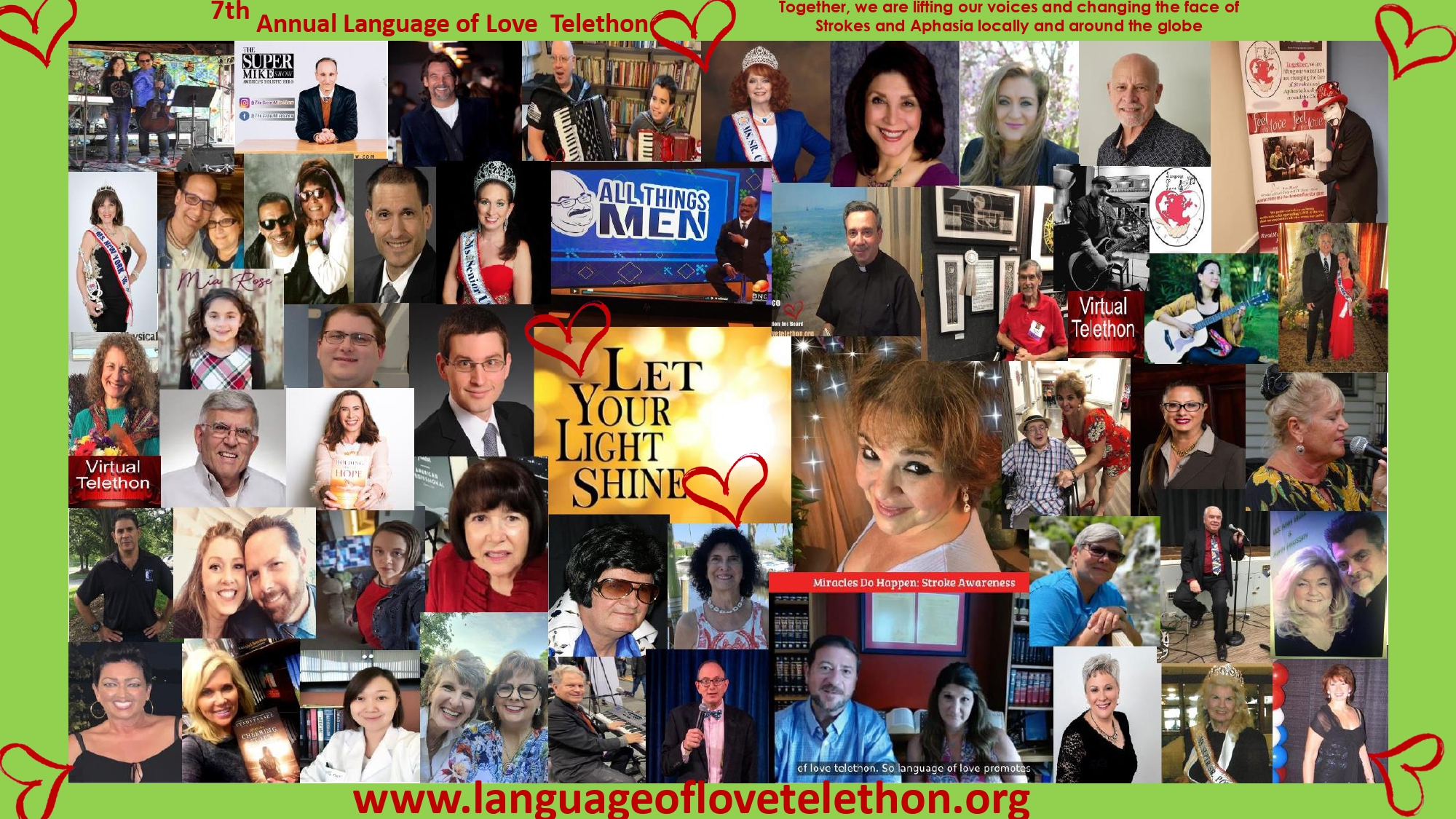 language of love telethon stroke and aphasia awareness
